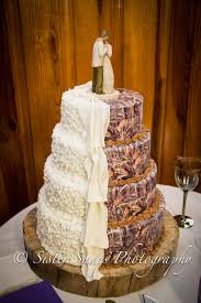 Wedding Cake thanks to We Girls Cake in Ayden, NC.... Not a big ...