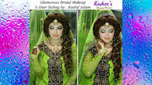 kashees latest bridal makeup hairstyle 2017