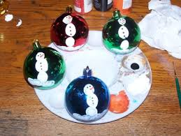 How To Make Glitter Christmas Ornaments  Christmas Ornament CraftsChristmas Ornament Craft Ideas