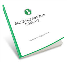 Meeting Plan Template Sales And Marketing Templates VA Partners 23