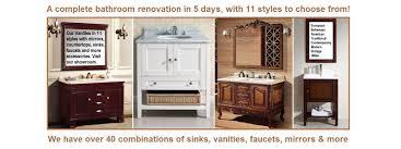 Complete Bathroom Vanities Best Scottsdale Az Bathroom Vanity Remodeling Showroom