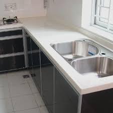 pure white quartz countertop china leading prefabricated whole with regard to countertops prepare 14