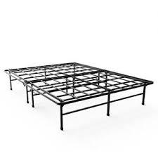 Metal Platform Bed Frame w Tufted Headboard AptDeco