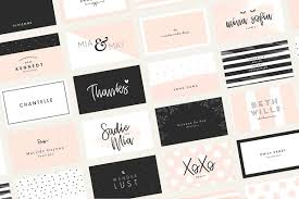 Membership Cards Templates Inspiration Business Card Templates Creative Market