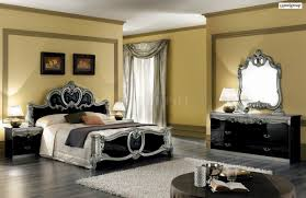 Ready Assembled White Bedroom Furniture Barocco Classic Two Tone Finish Bedroom By Camelgroup Italy