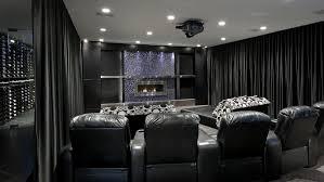 2 black home theater photos