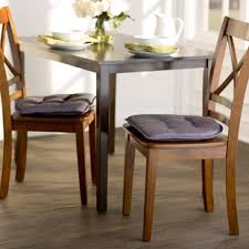 mesmerizing dining room chair pads cushions you ll love wayfair ca save 18 blue without strings