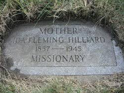 Ida Fleming Hilliard (1857-1945) - Find A Grave Memorial