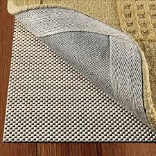 doublecheck s non slip area rug pad for hardwood floors size 2 x 8