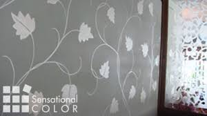 Hand Painted Wall Design Idea