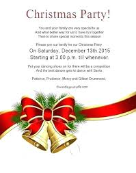 Holiday Invite Wording Party Invitation Corporate Dinner