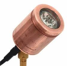 hunza spike light copper garden lighting