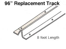 patio door replacement track 96 inch stainless steel patio door replacement track
