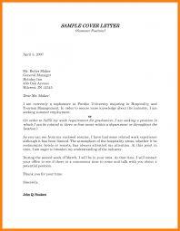 Best Ideas Of Cover Letter Sample For Hospitality Position In Letter
