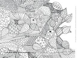 Free Online Coloring Pages For Adults Printable Only Easy Flowers
