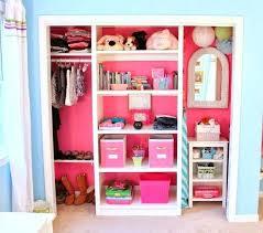 Girl Closet Ideas Purple Girl Closet Design Ideas Girls Bedroom