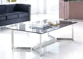 stainless steel and glass coffee table stainless steel coffee table coffee table extraordinary long grey glass