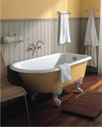 cast iron clawfoots like this retro tub from herbeau are not only more traditional