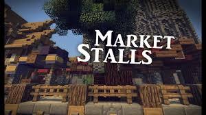 Minecraft Marketplace Design Minecraft Medieval Market Stalls Tutorial Design 2