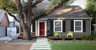small house paint color. Small House Exterior Paint Colors A Site Made Distinctive Red Doors Shutters And White Trim Remodelling Color Pinterest