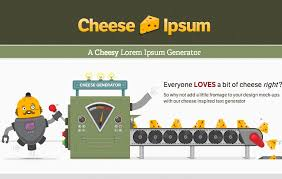 everyone loves a bit of cheese so why not add a little fromage to your design mock ups with this cheese inspired text generator