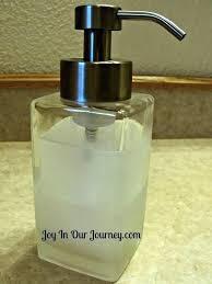 glass hand soap dispenser foam foaming designs pump