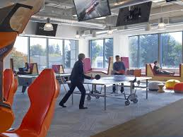 office game room. game room with pingpong pool table and arcade machinesu2026 office i