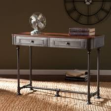 Image of: Small Rustic Foyer Table