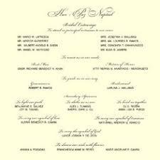 Sample Of Wedding Invatation Wedding List On Bridal Entourage List Invitation Ideas Wedding