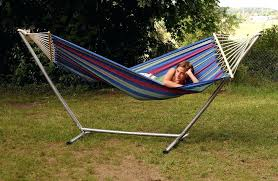 two person hammock with stand. Two Person Hammock With Stand Spreader Bar Single Metal Weather Resistant 2 Without N