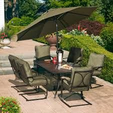Hd Designs Outdoors Hd Designs Outdoors Mary Hill 7 Piece Dining Set Green