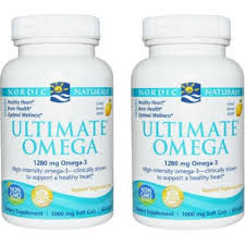 NORDIC NATURALS <b>ULTIMATE OMEGA 2x</b> 60s (twin pack ...