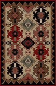delectably yours decor durango southwest rug 2x3 2x8 4x6 5x8 or 8x10