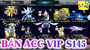 MLHC - Bán Acc Vip Server S145 Pokemon Đại Chiến Legends Top - YouTube