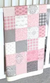 Pink Patchwork Quilts – boltonphoenixtheatre.com & ... Pink Patchwork Quilt Modern Patchwork Baby Blanket Pink Girl Infant  Crib Blanket W Puttin On The ... Adamdwight.com