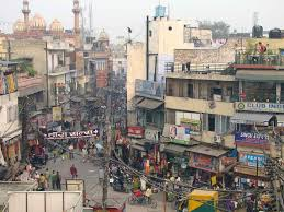 essay on my home town for school students  delhi 003 the view of paharganj out my hotel w