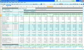 Financial Excel Spreadsheet Personal Budget Spreadsheet Template For Mac Finance Free