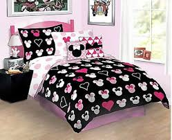 You can purchase a Minnie Mouse full size bedding set for the teen ...