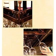 creative home bar wine rack hanging glass holder wine glass rack shelf wine glass holder wine