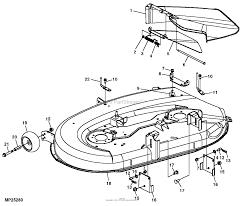 John deere parts diagrams john deere l17 542 scotts lawn tractor