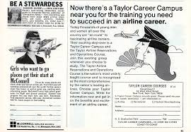 Best Careers For Women Stewardess Or Secretary Career Ads For Women In The 1960s