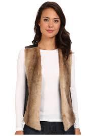 Nydj Size Chart Nydj Faux Fur Front Vest