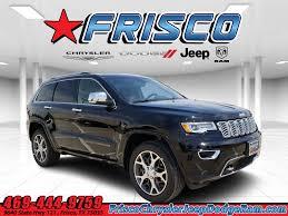 New 2020 Jeep Grand Cherokee Overland 4x4