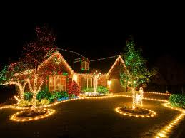 regarding electricity when installing lights on outdoor trees