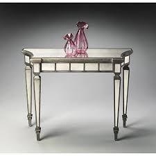 mirror console table. Ballerina Mirrored Console Table Mirror