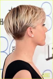 Scarlett Johansson Rocks An Undercut Haar Kapsels Kort Haar