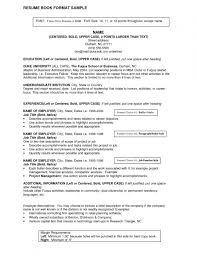 Good Job Titles For Resumes Resume Template Example