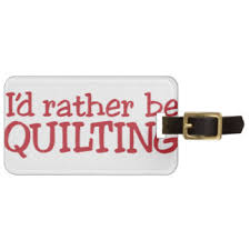 Quilted Luggage Tags | Zazzle & Quilting Luggage Tag Adamdwight.com