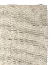 willpower chunky braided wool rug serena lily