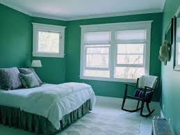 paint colors for bedroom with green carpet. bedroom design, cute wall color ideas in perfect and peacefully green walls design inspiration with double sized bed along bedcover paint colors for carpet t